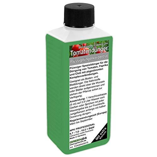 Abono para tomates, pimientos, chilli, abono líquido premium de línea profesional