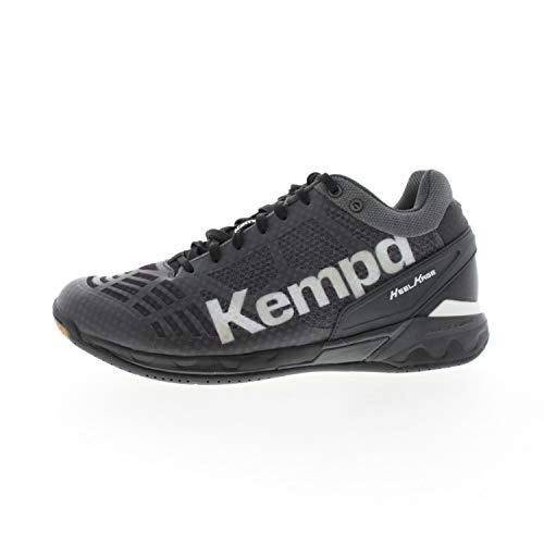 Kempa Unisex Attack Midcut Hohe Sneakers, Schwarz (01), 42 EU