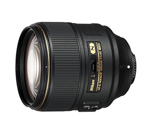 Obiettivo per fotocamera Nikon AF-S Nikkor, 105mm, 1:1,4E, nero