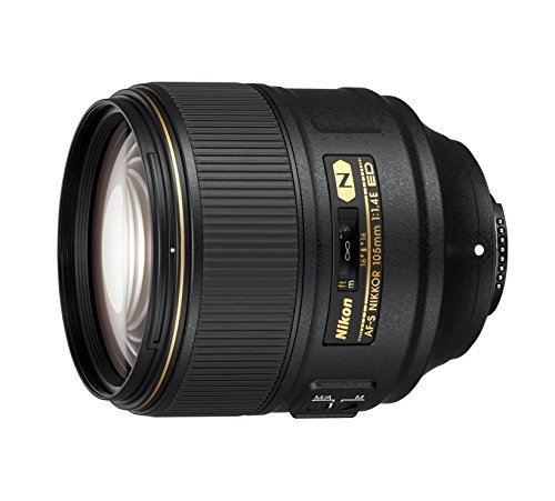 Nikon AF-S FX NIKKOR 105mm f/1.4E ED Lens with Auto Focus
