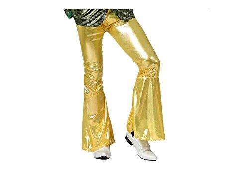 ATOSA–Kostüm Disco Gold Erwachsene Hose XL