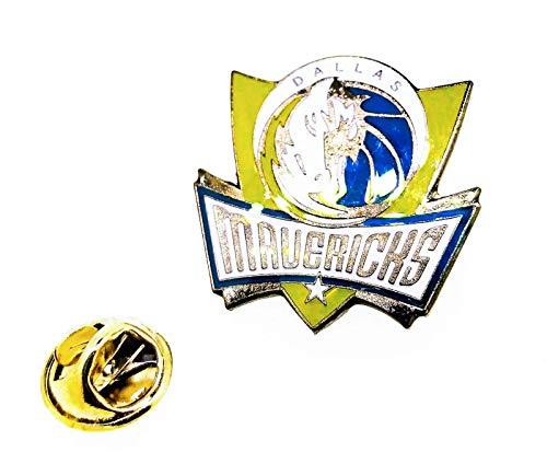 Gemelolandia | Pin de solapa NBA Dallas Mavericks 25mm | Pines Originales Para Regalar | Para las Camisas, la Ropa o para tu Mochila | Detalles Divertidos