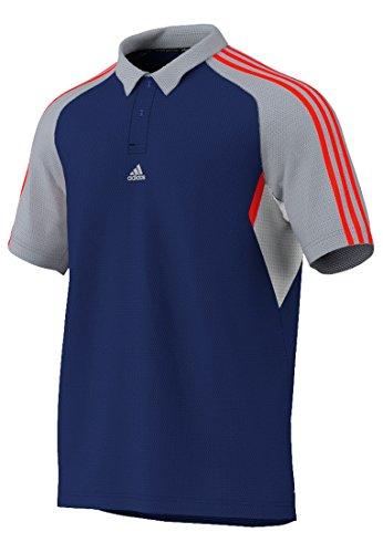Adidas Refresh Polo Bleu - - Bleu,