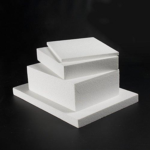 Poliestireno expandido Blanco de 15 mm 50 x 100 cm