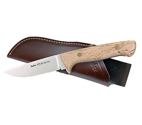 Linder Erwachsene Jagdmesser Klingenlänge 10 cm Messer, mehrfarbig, 21.9 cm