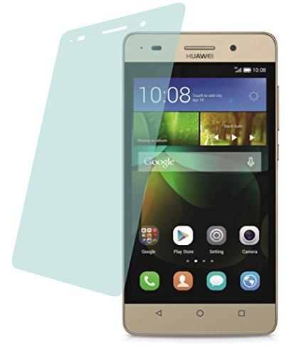 4ProTec I Huawei G Play Mini (2 Stück) Premium Bildschirmschutzfolie Displayschutzfolie kristallklar Schutzhülle Bildschirmschutz Bildschirmfolie Folie
