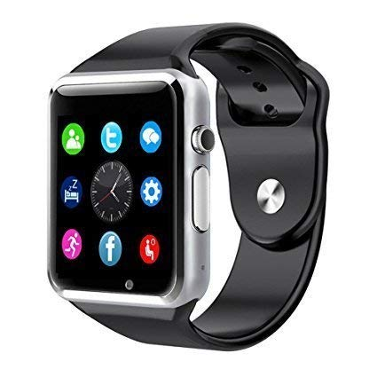 SYL PLUS Bluetooth Smart Watch Touchscreen Multi Function TF Card Support with Camera, Sim Card Compatible with All Smartphones