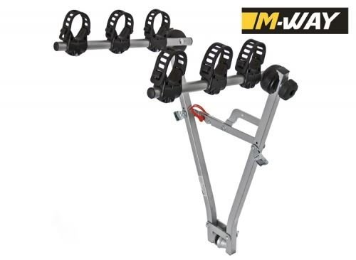 Ford Focus de marzo de 2011  trasera Towball Mounted Cycle Carrier para 3 bicicletas