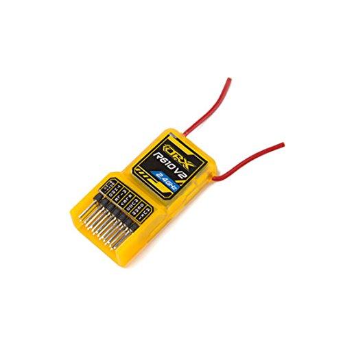 Unbranded OrangeRx R610 V2 6Ch 2.4GHz Orange RX Receiver w/CPPM Compatible DSM2 Top Selling
