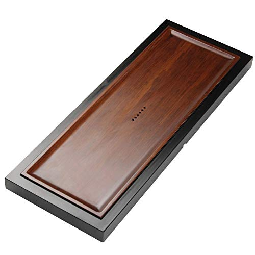 Buy Rectangular Bamboo Tea Tray with Round Holes, Size: 80 x 31 x 4.3cm