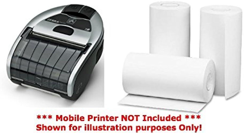 Zebra IMZ320 direkte Thermo-Papierrollen (20 Rollen pro pro pro Box), 75,4 mm x 46 mm x 17 mm, durchgehend (Breite x Länge) 80 g m², (nicht die Etiketten) weiß B077GH5M18 | Shop  d176ef