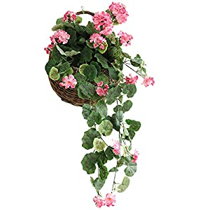 SACYSAC Artificial Flower, Begonia Hydrangea, Artificial Flower Plant, Used for Wedding, Banquet, Garden Wall Decoration