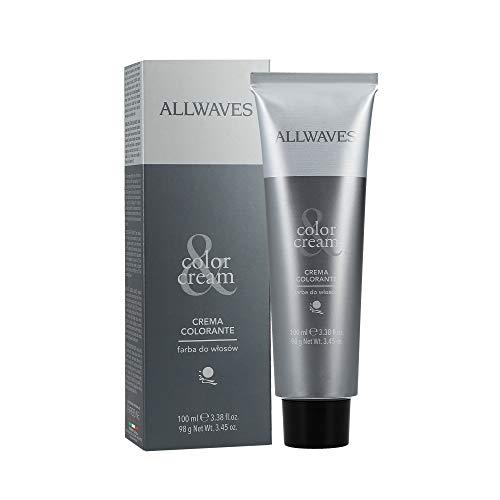ALLWAVES Crème professionnelle Color 9.1 Ash Ultra Light Blond Blond 100 ml