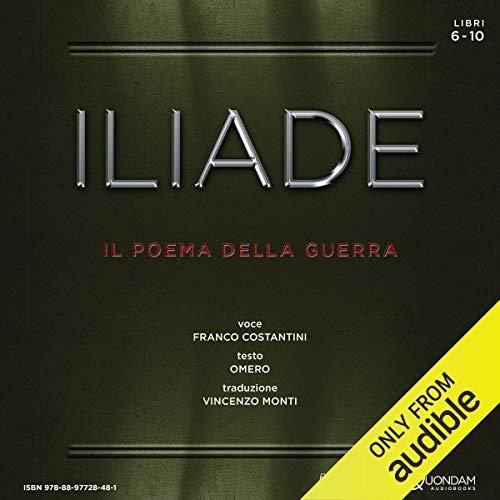 Iliade [The Iliad] cover art