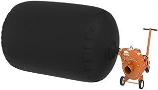 (1) Insulation Vacuum Bag - Super Heavy Duty Tear-Proof 6 FT X 4 FT - Easy-Fill SPOUT & Lowest DUST Bag - EST 450 lbs / 75 CF Rhino 4.0 Bag by RHINOVACBAG