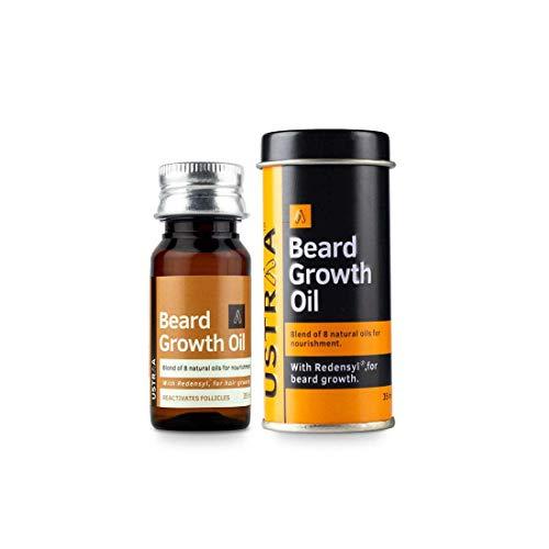 Ustraa Beard Growth Oil - 35ml - More Beard Growth, With Redensyl, 8...
