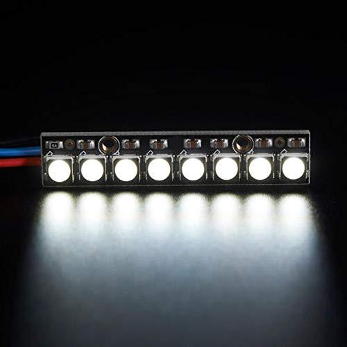 DIBAO 3 piezas de tablero recto, 8 x 5050 RGBW O.k. pantalla LED blanca 6000 K con módulo de controladores unificados.