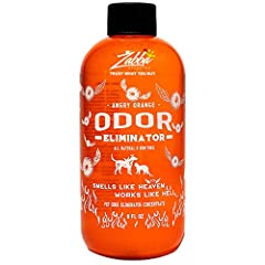 Get rid of the toughest pet odors: Angry Orange is a commercial grade citrus pet odor remover Safe And Non Toxic: Angry Orange pet urine odor remover is derived from the oil found in orange peels; biodegradable and non-toxic Makes (4) 32 Ounce Spray ...