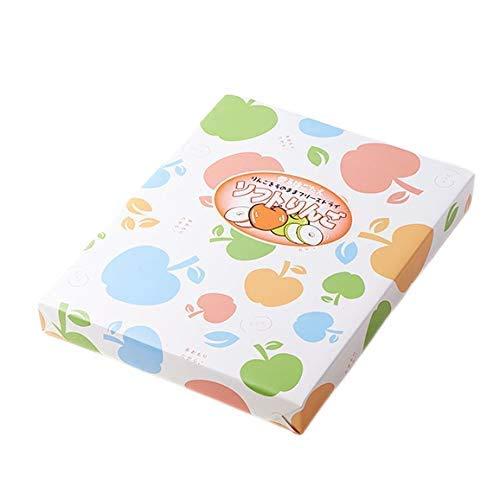 はとや製菓 ソフトりんご(ふじ・王林) (6袋入)
