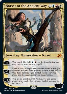 Magic: The Gathering - Narset of The Ancient Way - Ikoria: Lair of Behemoths