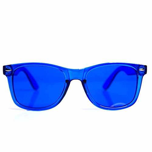 GloFX Blue Color Therapy Glasses Chakra Glasses Relax Glasses