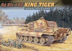 ■ 【アオシマ/青島】(1/35) 戦車・戦闘機 キングタイガー ヘンシェル砲塔 (6208) ドラゴンモデル AOSHIMA