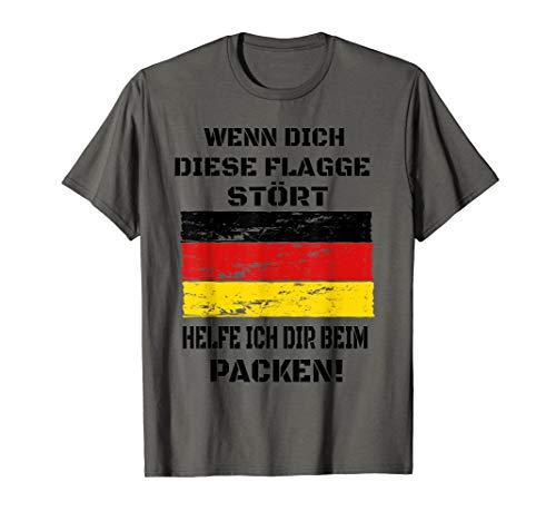 Deutschland Flagge I Patriot I Deutschland T-Shirt