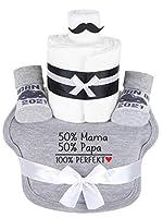 Trend Mama Windeltorte Hipster rot./weiß Junge Baby Sneakersocken- bedrucktes Lätzchen Mädels ich bin bereit Termine nimmt meine Mama entgegen