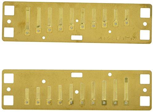 Lee Oskar 797134 - Repuesto para armónica natural menor, Re...