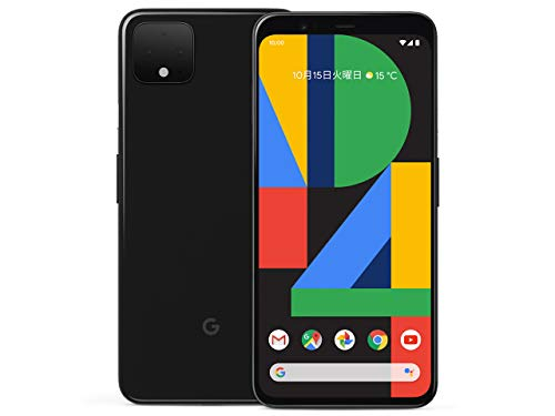 国内版SIMフリー Google Pixel 4 64GB Just Black
