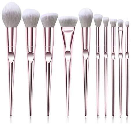 CWD Súper Suave Cepillo De Maquillaje 10 unids Pinceles de Maquillaje de Ojos Set de Sombra de Ojos ceja esculpiendo Pinceles de alimentación Facial Maquillaje cosmético Cepillo Herramientas