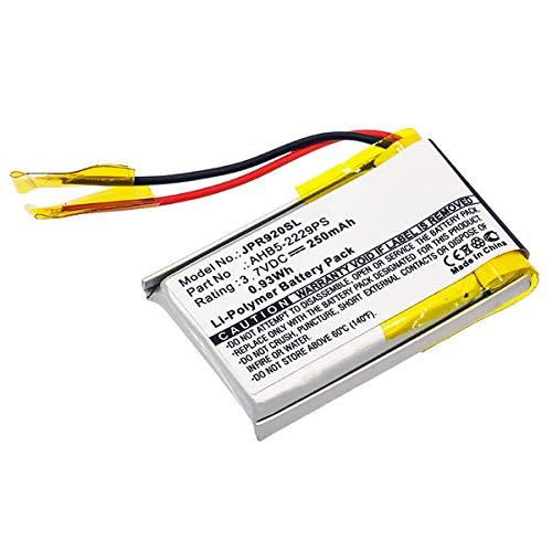 subtel® Qualitäts Akku kompatibel mit Jabra Pro 900, Pro 920, Pro 923, Pro 930, Pro 935 - AHB5-2229PS (250mAh) Ersatzakku Batterie