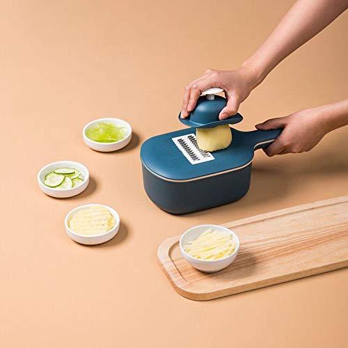 LKW (8PCS) Küchenhaushalt Häcksler, Schredder Gemüse, Multifunktions- Blumen Kartoffeln, Gemüse-Zerkleinerungs Und Schneidmultifunktionsdraht Slicer