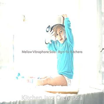 Mellow Vibraphone Solo - Bgm for Kitchens
