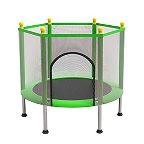 LINZI Indoor trampoline for kids my first trampoline mini trampolines for kids (Color : Green)