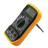 MOHAN88 Multímetro Digital, Xl-830L Multímetro Digital Voltímetro LCD Amperímetro Ohmímetro Ohm Volt Tester Multímetro Digital de Mano