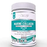 The Intelligent Health Hydrolysed Marine Collagen Powder, Joint Support, Skin & Hair Health & Anti Aging Peptides Supplement,Paleo & Keto Friendly, Gluten Free | Made in The UK (400g - Unflavoured)