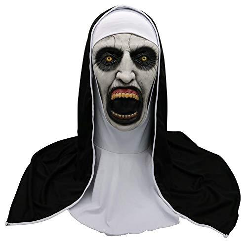 NOWAYTOSTART Máscara De Horror De Látex Head Mask Fiesta De Disfraces De Navidad De Halloween, Máscara De Disfraz De Payaso De Terror para Adultos para Halloween, Carnaval, Lema Y Fiesta De Miedo