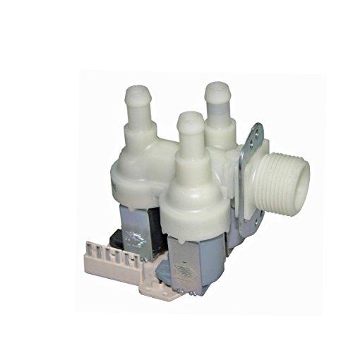Europart 10026820 Magnetventil Zulaufventil 3-fach 90° 11,5mmØ z.T. W110 W120 W135 W151 W155 W489 W832 W842 W866 W874 W878 W9xx Waschmaschine passend wie Miele 4035200 Quelle Neckermann 00935379