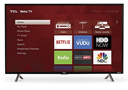 TCL 40S305 40-Inch 1080p Roku Smart LED TV (Certified Refurbished)