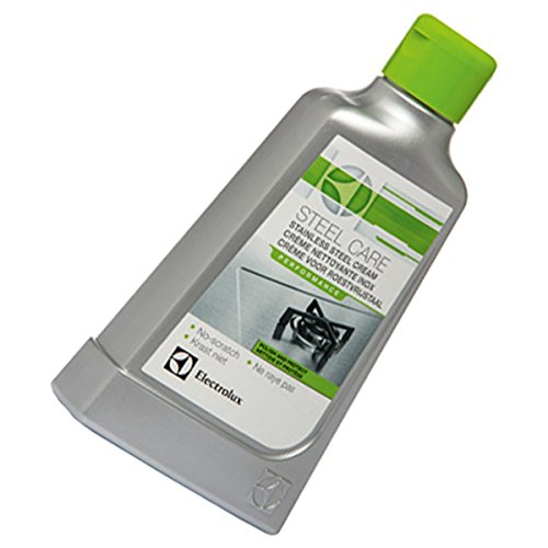 Crema Detergente acciaio inox steelcare stufe Forni e vetroceramica, cappe di cottura