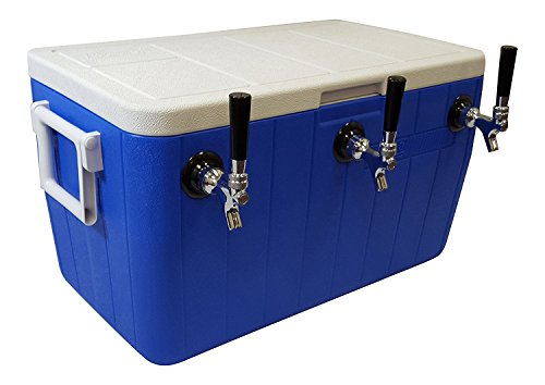 48 Qt. Jockey Box 3 Tap Cooler