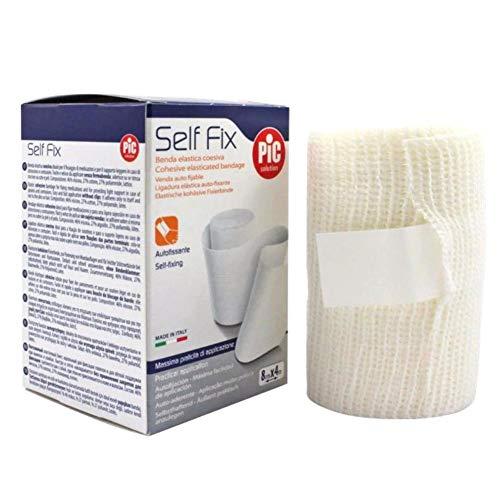 Pic solution Self Fix, Benda elastica coesiva autofissante, 8 cm x 4 metri