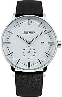 Men's Business Style Second Dial Leather