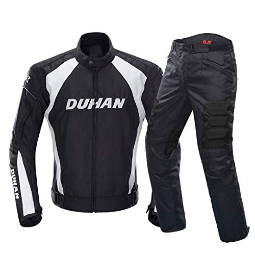 Motorcycle Jacket Motocross Suits Jacket&Pants Moto Jacket Protective Gear Armor Motorcycle Clothing 089 Suit XXL