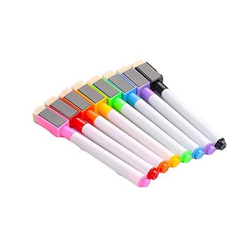Rotuladores magnéticos color pizarra blanca, bolígrafos