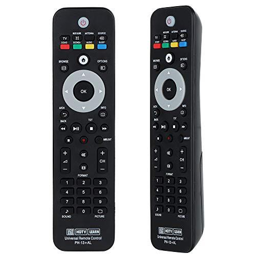 Gvirtue 242254902314 - Mando a distancia para Philips Smart TV RC242254902314, 242254902314, 32PFL5604H/12, 32PFH5501/88 32PFS5501/12 32PFS6401 32PFS6401/12 y más