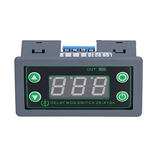Timer Relay Eujgoov DC 5-30V Delay Relay Controller Board Digital Cycle Timer Switch with LED Display for Industrial Control