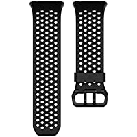 Fitbit Ionic Correa Sport, Unisex Adulto, Negro, Large