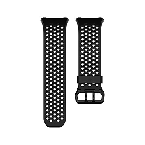Fitbit Ionic Accessory Sport Band, Black/Gray, Large